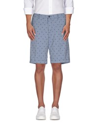 Ben Sherman Trousers Bermuda Shorts Men Slate Blue