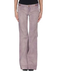 Daniele Alessandrini Denim Pants Purple