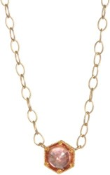 Cathy Waterman Women's Gemstone Pendant Necklace Colorless
