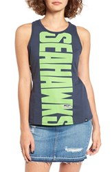 47 Brand Women's Seattle Seahawks Vista Graphic Racerback Tank