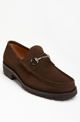 Gucci Classic Lug Sole Moccasin Dark Brown