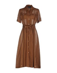 Scapa Dresses Knee Length Dresses Women Brown
