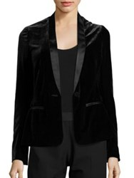 Bailey 44 Michele Velvet Jacket Black