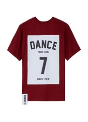 Studio Concrete 'Series 1 To 10' Unisex T Shirt 7 Dance Red