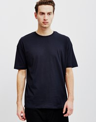 Adpt Boxy Short Sleeve T Shirt Black