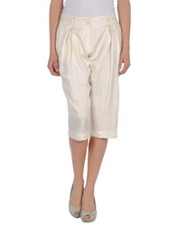 Francesco Scognamiglio Trousers 3 4 Length Trousers Women