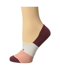 Stance Trilogy Red Women's Crew Cut Socks Shoes