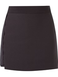 Giuliana Romanno Panelled Skort Grey