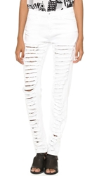 Each X Other Ruiz Stephinson Destroyed Jeans White