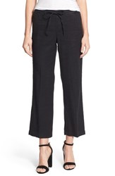 Women's Nydj 'Jamie' Relaxed Ankle Flared Pants Black