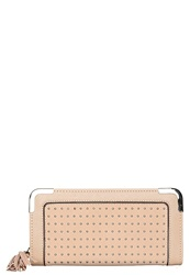 New Look Pin Stud Wallet Oatmeal Off White