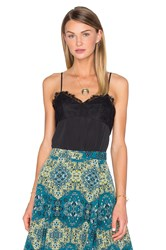 House Of Harlow X Revolve Lily Lace Detail Cami Black