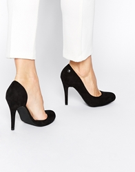 Blink Cut Out Heeled Shoes Black
