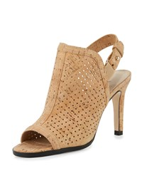 Sesto Meucci Bendyk Perforated Cork Sandal Natural