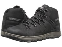 Caterpillar Stiction Hiker Waterproof Ice Black Men's Lace Up Boots