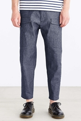 Woolrich Cotton Denim Pant Navy