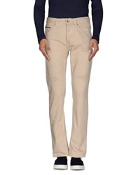 Messagerie Denim Denim Trousers Men Sand