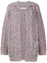 Philosophy Chunky Knit Linen Pink