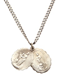 Miansai Saints Sterling Silver Necklace