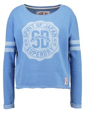 Superdry Rosetta Crew Sweatshirt Blue Skies