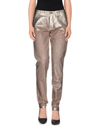 7 For All Mankind Trousers Casual Trousers Women Platinum