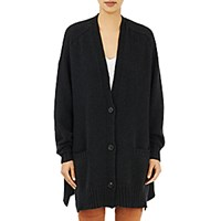 Isabel Marant Women's Oversized Farah Cardigan Dark Grey