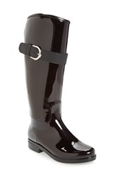 Dav Women's 'Bristol' Weatherproof Knee High Rain Boot