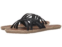 Volcom Check In Sandal Black Women's Sandals