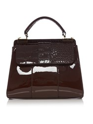 Therapy Dhalia Triple Compartment Handbag Brown
