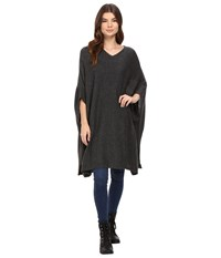 Bench Dexterity Poncho Anthracite Marl Women's Clothing Gray