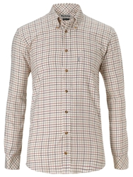 Barbour Scotland Loose Check Shirt Red