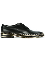 Louis Leeman Embellished Lace Up Shoes Black