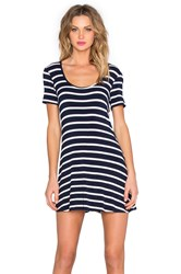 Lovers Friends Knot Your Dress Navy Stripe