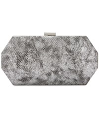 Inc International Concepts Geo Clutch Only At Macy's Pewter