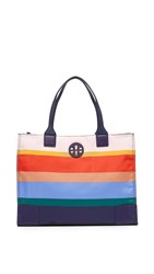 Tory Burch Ella Printed Packable Tote Journey Stripe