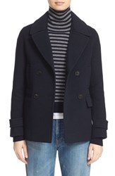 Vince Women's Wool And Cashmere Peacoat Coastal