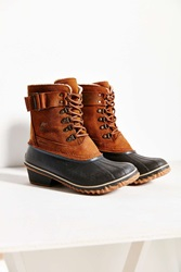 Sorel Winter Fancy Lace Up Ii Boot Brown Multi