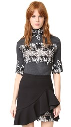 Giambattista Valli Sweater Grey Black