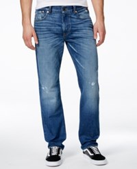 Lrg Men's Big And Tall Rc True Tapered Fit True Vintage Wash Jeans