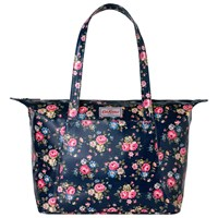 Cath Kidston Large Slip Pocket Shoulder Bag Navy
