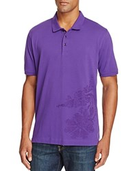 Robert Graham Jawbone Canyon Classic Fit Polo Shirt Eggplant