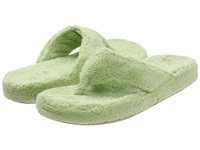 Acorn New Spa Thong New Lime Fabric Women's Slippers Green