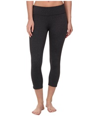 Prana Ashley Capri Legging Charcoal Heather Women's Capri Gray