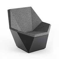 Knoll Prism Lounge Chair With Swivel Base