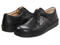 Finn Comfort Vaasa 1000 Black Nappa Leather Lace Up Casual Shoes