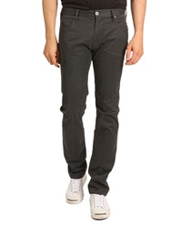 Armani Jeans J45 Fitted Straight Grey Jeans