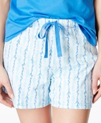 Charter Club Printed Boxer Shorts Only At Macy's Seahorse Stamp