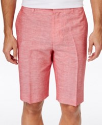 Inc International Concepts Men's James Lightweight Shorts Only At Macy's Coral