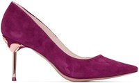 Sophia Webster Purple Coco Flamingo Heels