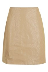 Glamorous Suede Mini Skirt By Stone